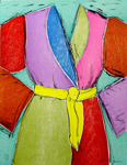 The Yellow Belt, By Artist Jim Dine