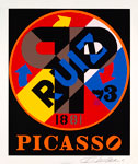 Picasso, By Artist Robert Indiana